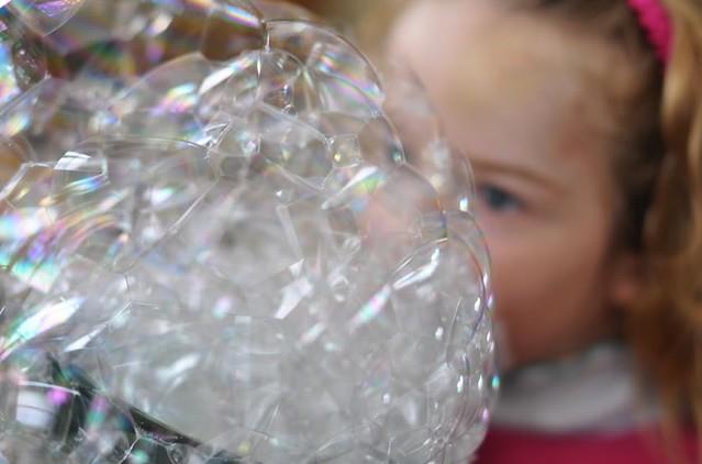 Shalom & bubbles