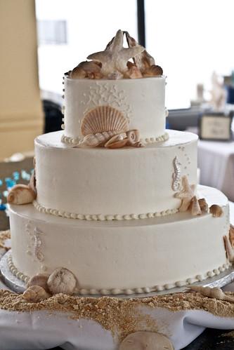 Cake on the Beach