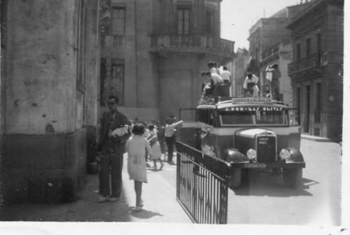 1935 arribada dels de Blanes amb els de Tallada