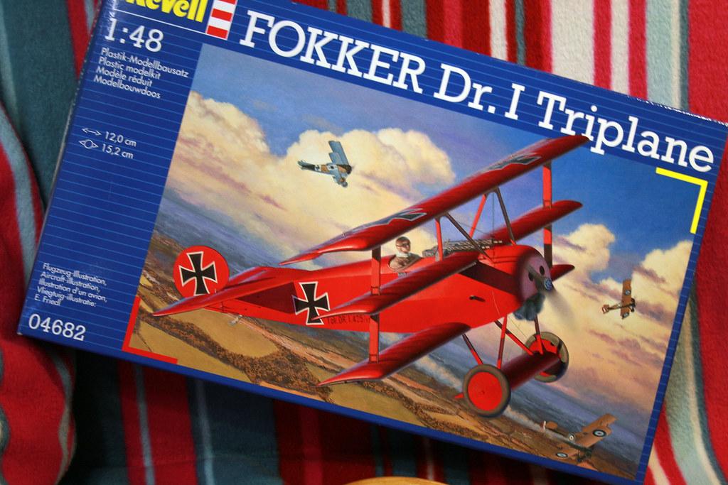 "Fokker Dr.I Triplane - ""Красный барон"""