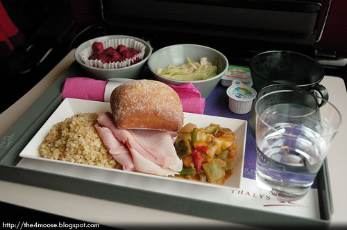 Thalys 9323 - Lunch