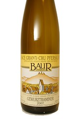 "2007 Domaine Charles Baur ""Pfersigberg"" Gewurztraminer Grand Cru"