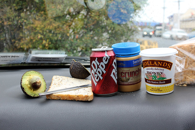 Lunch on the road