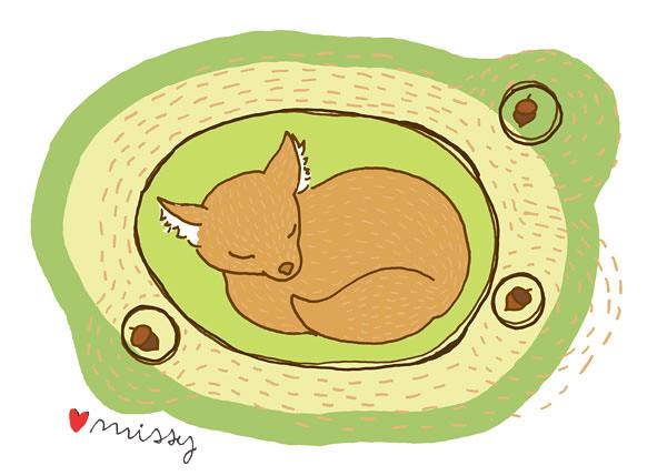 Illustration Friday - Hibernation