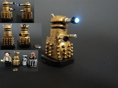 Dalek (billbobful) Tags: light 2 up lego who dr version 11 led doctor dalek 11th eleven davros v2 eleventh