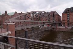 _DSC9010 (durr-architect) Tags: city water port germany district hamburg free goods warehouse transfer neogothic speicherstadt zone warehouses customs redbrick