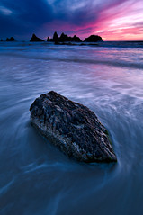 Seal Rock Sunset (Deej6) Tags: seascape rock oregon landscape coast state pacific northwest central seal wayside platinumheartaward d300s tokina1116