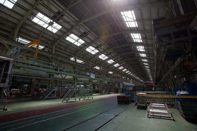 工場内 - 新幹線なるほど発見デー2011
