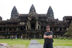 Greg at Angkor Wat