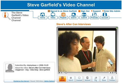 Vloggercon 2006 Interviews by stevegarfield