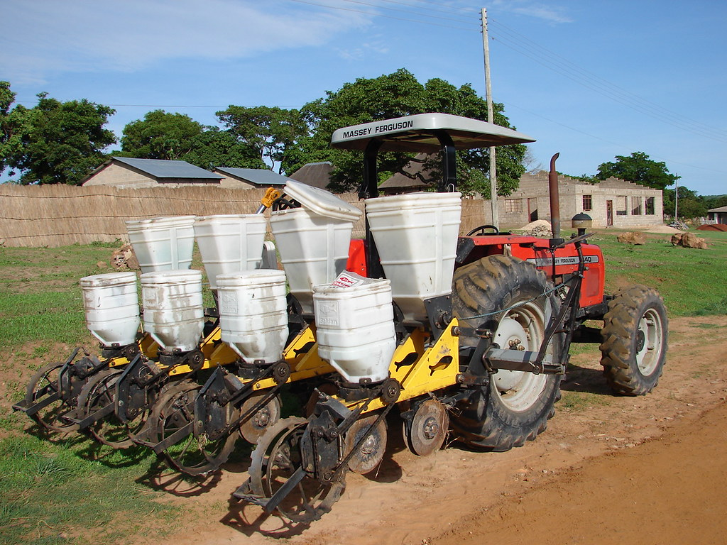 New Tractor and farm equipment for Kaoma Cheshire Home