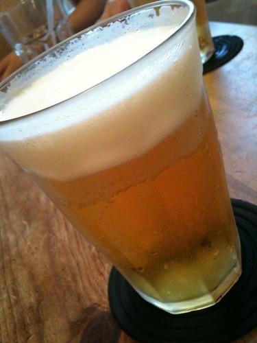 ビールと生ハムなう。@エリック