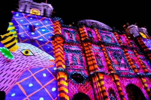 Espectáculo Multimedia Catedral Oaxaca (09)