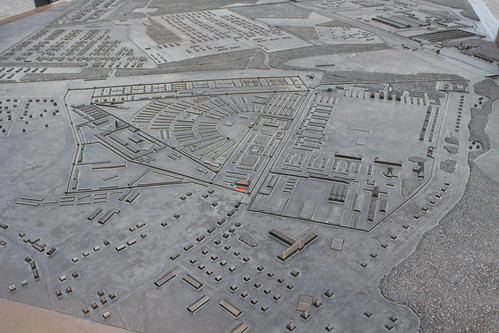Relief map of the original complex