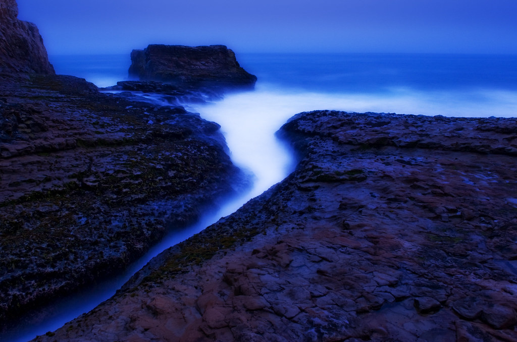 Davenport beach twilight