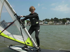 Beginners Windsurfing Lessons - July 2011