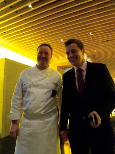 Chef Cyrille Soenen & Hubertus Cramer