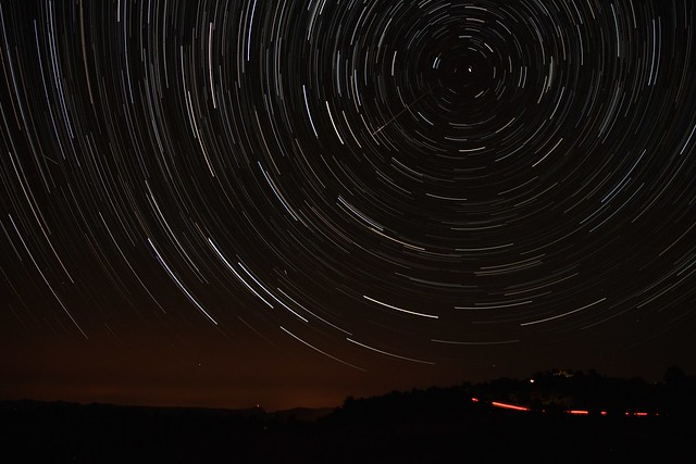Star Trails 1 - Around Polaris