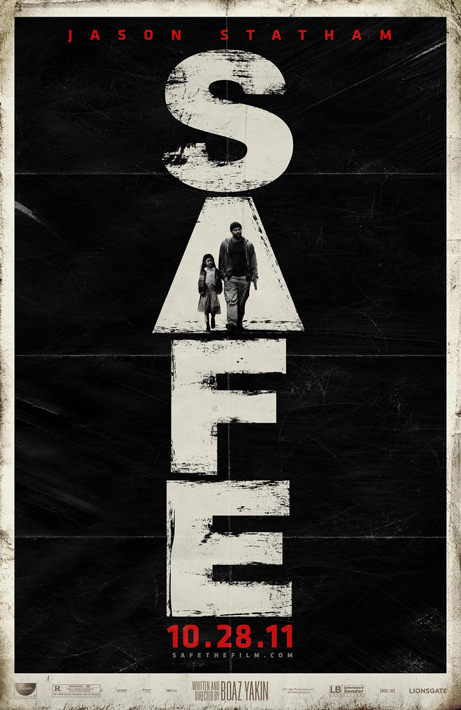 Jason Statham, Lionsgate's Safe, Safe Movie,