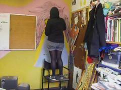 proceso (alterna ) Tags: chile santiago muro girl rosa nia agosto lolita natalia boba graff dibujo muralla pelo ilustracion joven pieza alterna alternativa 2011 superboba alternaboba