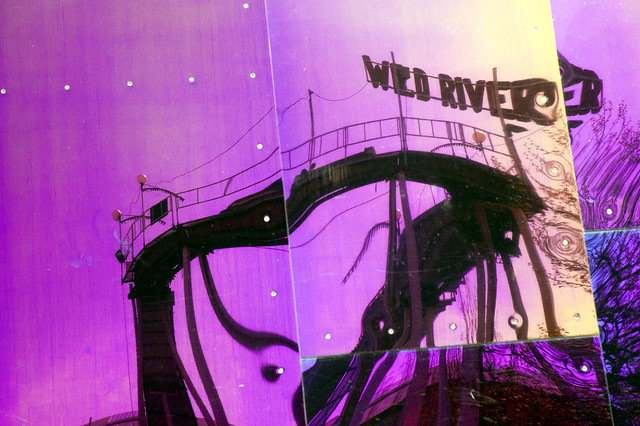 Wild River Rollercoaster  (just torn down)