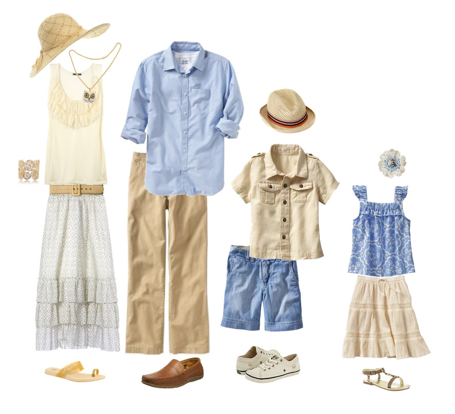 Look - Family summer pictures what to wear video