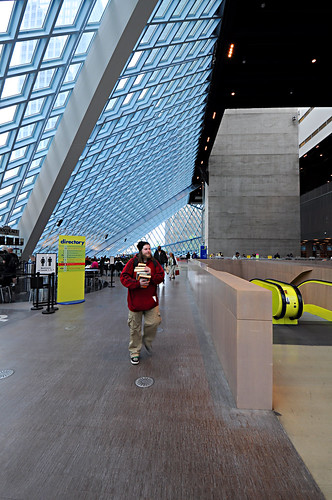 Seattle Central Library - Main Lobby