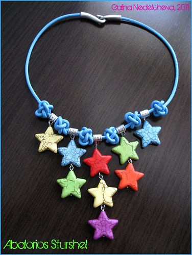 Collar Lluvia de Estrellas