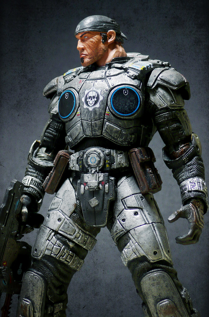 Marcus Fenix Custom (NECA Gears of War Series 1)