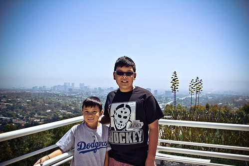 Boys at Getty