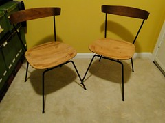 Plywood Chairs - BEFORE