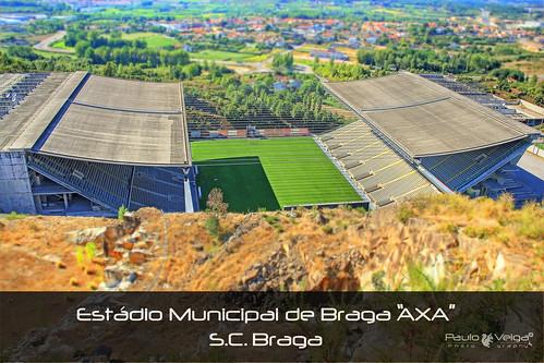 Stadium S.C.Braga by Paulo Veiga Photography on/off vacation