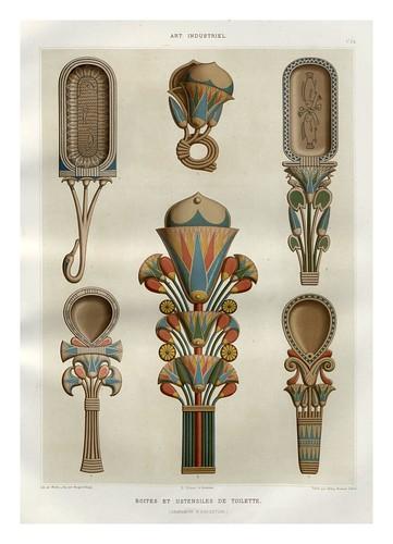 013-Cajas y utensilios cosmeticos-Histoire de l'art égyptien 1878- Achille Constant Théodore Émile