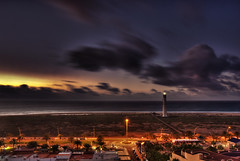 ::. la aurora .:: (MWD-Pictura) Tags: strand meer fuerteventura kanaren urlaub leuchtturm meerblick jandia morrojable blauestunde kanarischeinseln d80 sonnanaufgang