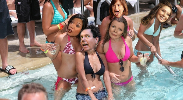 Peggy's Pool Party