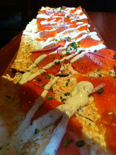 Project 365 - Salmon Flatbread by michaelbaumann