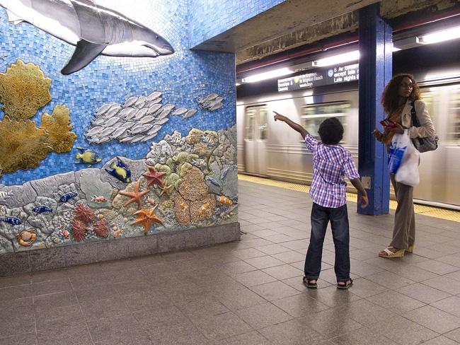 Mosaic, 81st Street, NYC