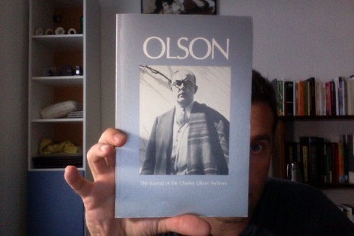 Olson: The Journal of the Charles Olson Archives, Number 8 by Michael_Kelleher