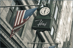 #31 Back to the States. (Abdulla Attamimi Photos [@AbdullaAmm]) Tags: usa clock boston america ma photography us photo nikon photos flag photographic american 2008 2010  abdulla americano abdullah amm   d90    tamimi    attamimi   desamm abdullahamm  abdullaamm altamimialtamimi    abdullaammnet abdullaammcom   us americasflag americanflag