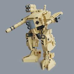 B-71 KriegsLufer (Fredoichi) Tags: robot lego space military walker micro mecha mak mech maschinenkrieger microscale dieselpunk fredoichi