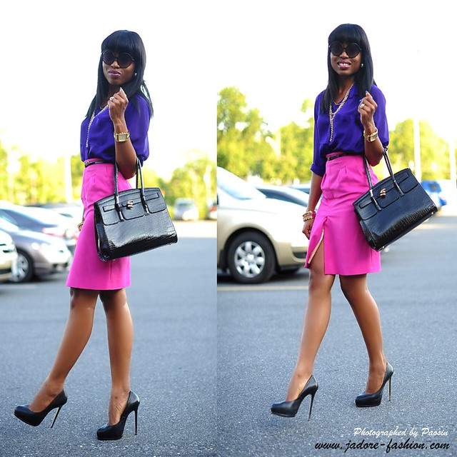 Pink & Purple by jadore-fashion.com