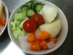 朝食サラダ(2011/8/22)