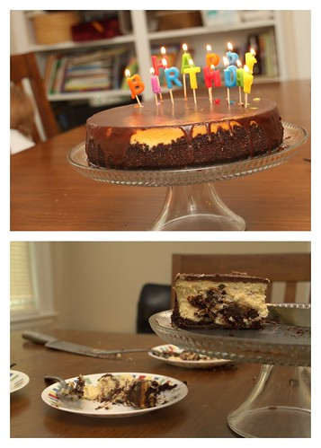 233/365 - Brownie Mosaic Cheesecake