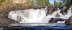 Oxtongue River Falls (rpgold) Tags: canon gold cottage falls waterfalls muskoka lakeofbays 2011 ef24105mmf4lisusm oxtongueriver 5dmarkii rachellepaul rpgold 5dmark2