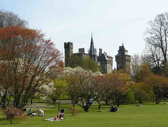 """Cardiff Castle from Bute Park • <a style=""""font-size:0.8em;"""" href=""""http://www.flickr.com/photos/36398778@N08/6068840637/"""" target=""""_blank"""">View on Flickr</a>"""