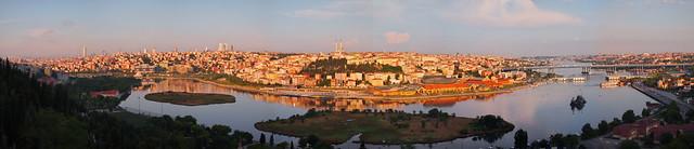Eyup Merkez的景觀--寬景版