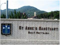 St. Anne sanctuary, Bukit Mertajam (1846)