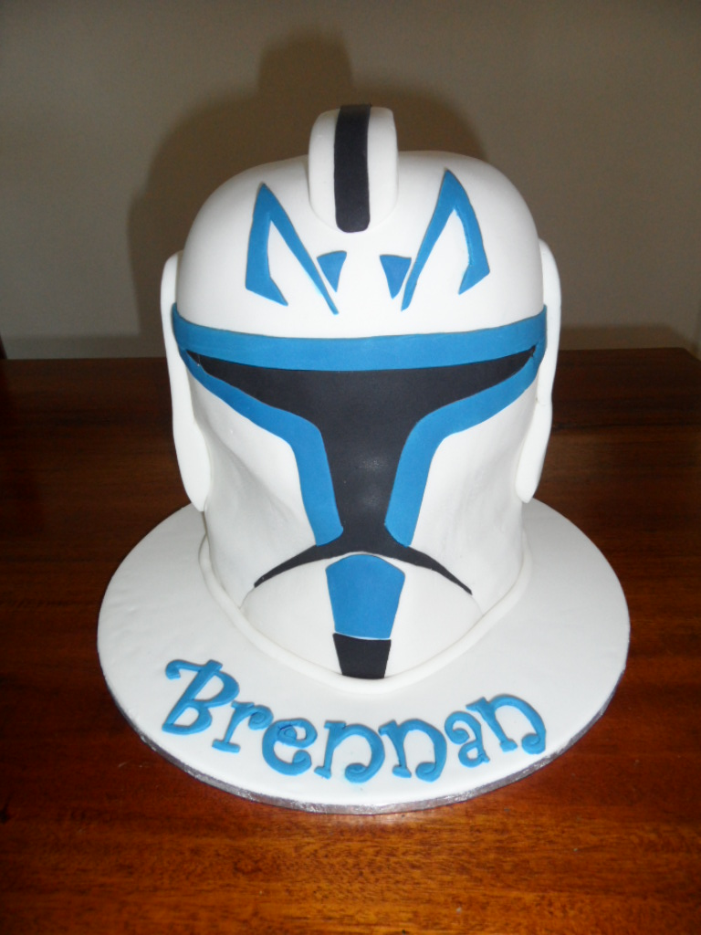 Star Wars Clone Wars Trooper Rex Helmet