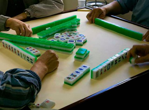Sara Jane Boyers, Mahjong at Lee Family Association, Los Angeles, 2008