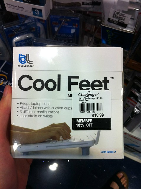Bluelounge Cool Feet Box